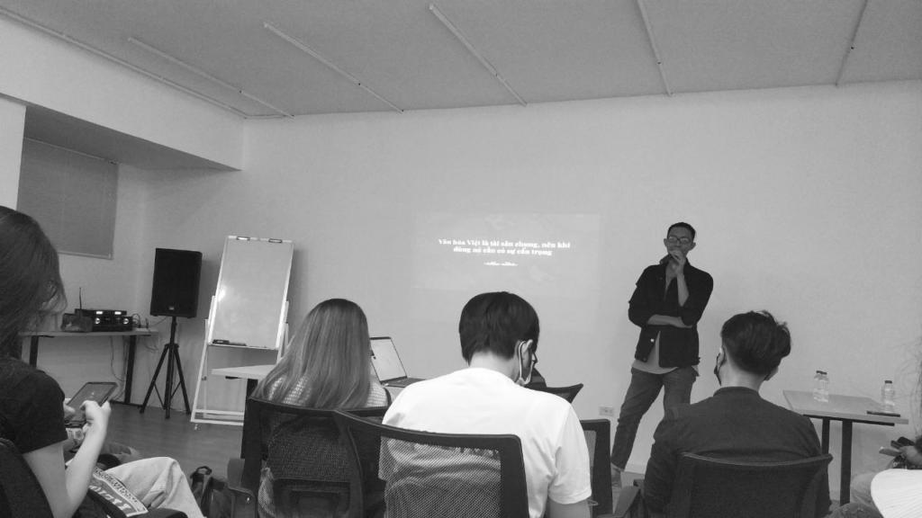 Buổi nói chuyện về ứng dụng Chất Việt trong kinh doanh